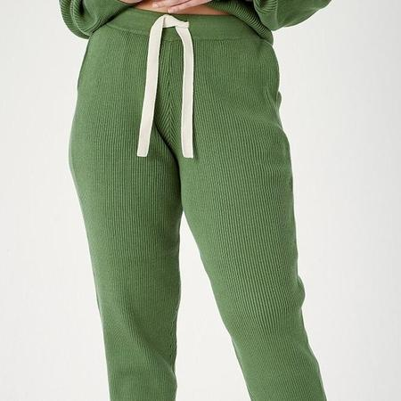 Back Beat Co. Organic Cotton Surf Jogger Pant - Matcha