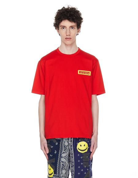 Junya Watanabe Pirelli Tshirt - Red