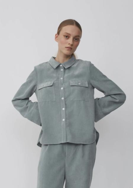 Just Female Buffy Shirt - Silver Blue