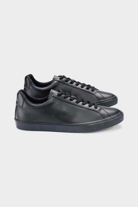 VEJA Esplar Leather Sneakers - Full Black