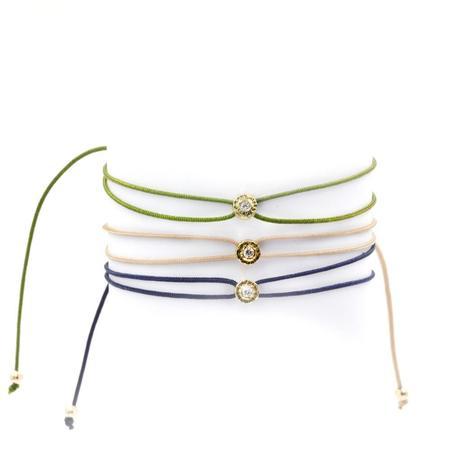 Octavia Elizabeth Fine Jewelry Parachute Diamond Nesting Gem Bracelet