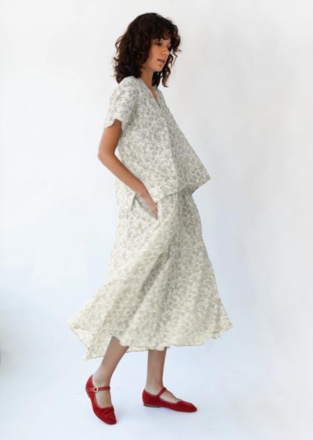 Caron Callahan Selma Dress - Butter