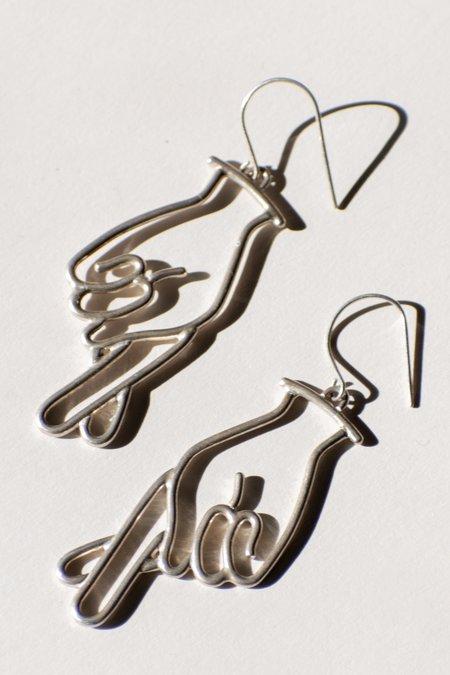 Emma Brooke Jewelry Crossed Fingers Earrings