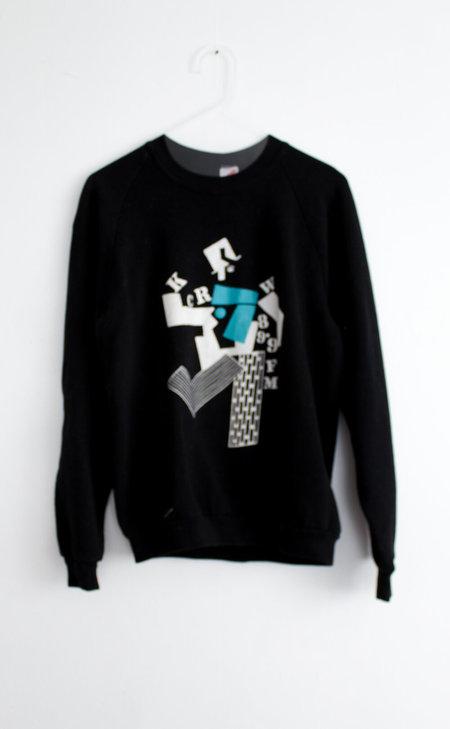 Vintage KCRW Sweatshirt - Black