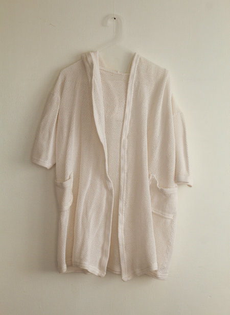 Vintage Net Cover-up - Cream