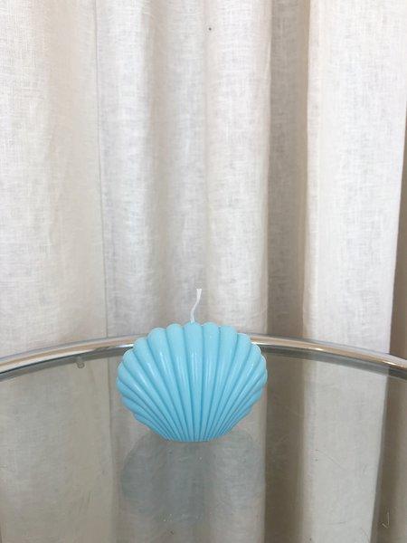 Ri-Ri-Ku SHELL CANDLE - BLUE