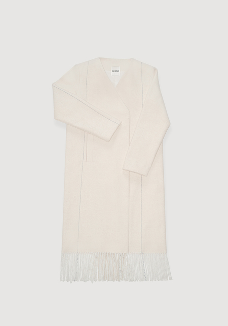 OK KINO Coat - White