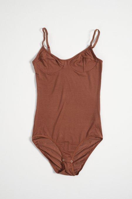 Baserange Bodysuit - Rust