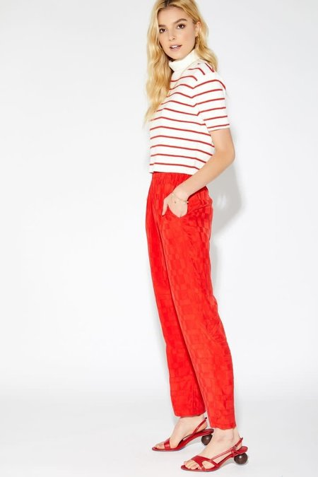 Callahan Carmen Pant - Candy Red