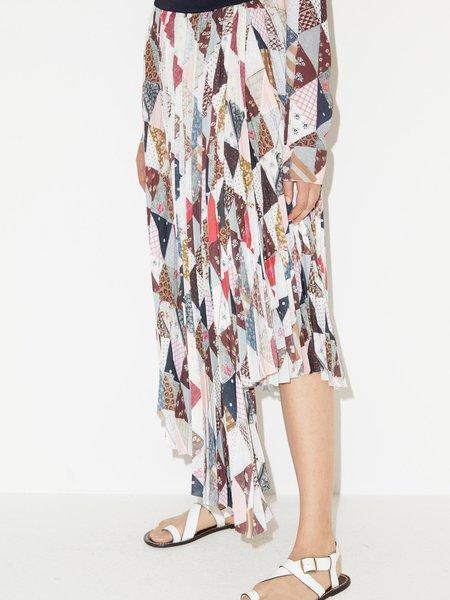By Malene Birger Piza Pleated Skirt - Night Sky
