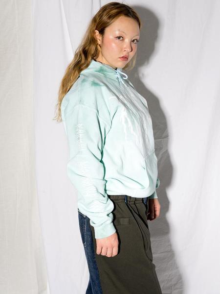 Unisex Audrey Louise Reynolds Envirometal Hoodie - Recycle Newport Menthol