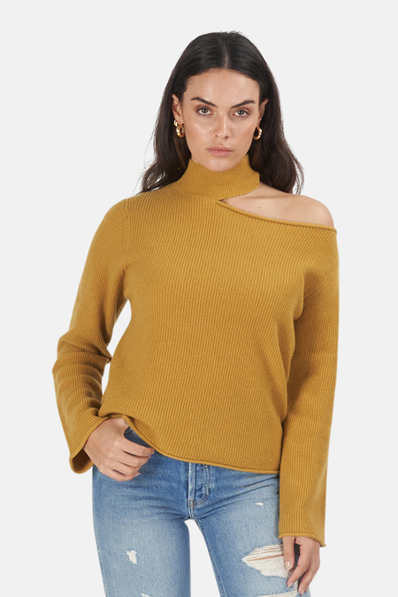 RtA Langley Sweater - Mustard