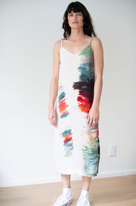 Stateside Cupro Cami Dress - Rainbow
