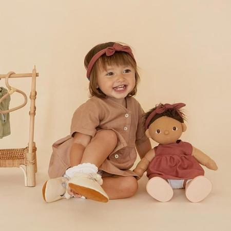 Kids Olli Ella Dinkum Doll Travel Togs - Rose Pink