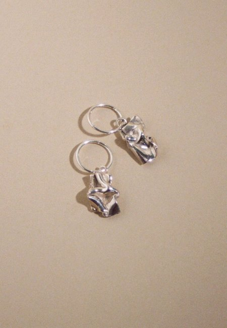MARS Love Letter Sleepers - Sterling Silver
