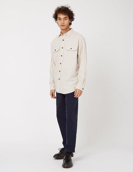 Pendleton Burnside Flannel Shirt - Natural
