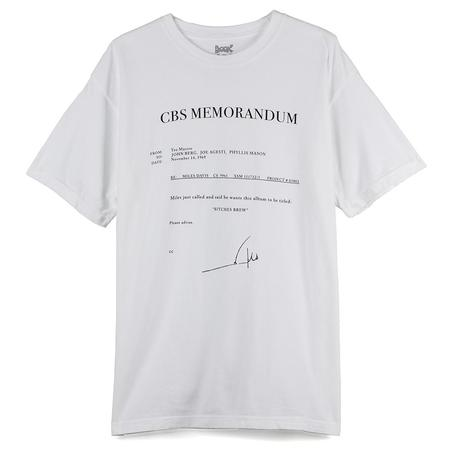 Book Works Fax T-shirt - White