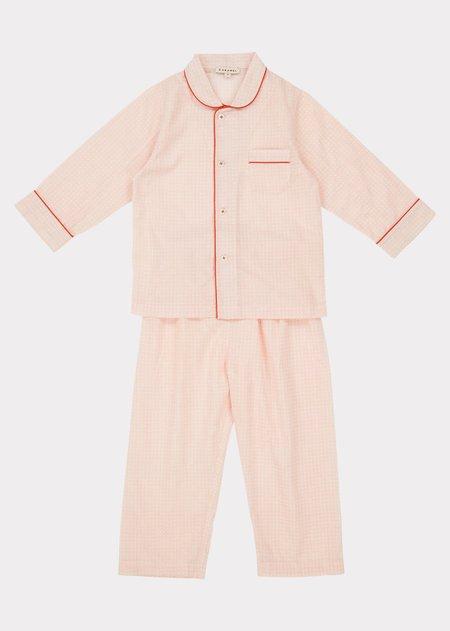 KIDS Caramel Child Pyjama - Pink Check