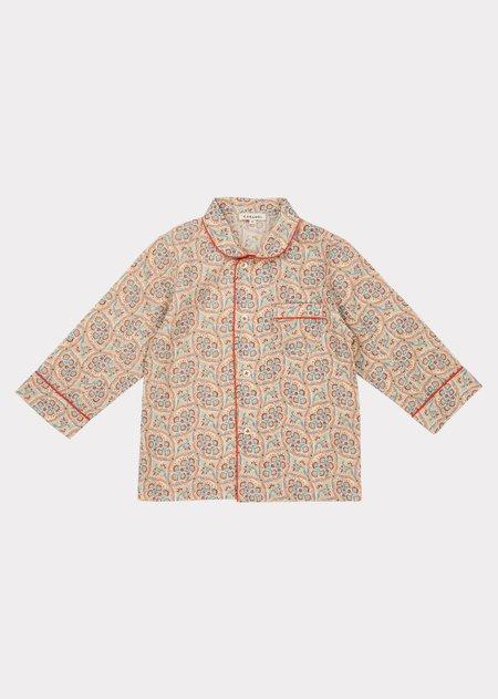 kids Caramel Child Pyjamas - Paisley Print