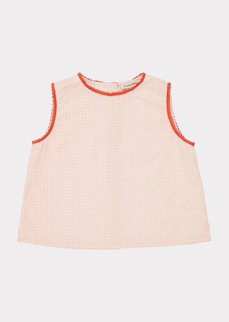 KIDS Caramel Girl Pyjamas -  Pink Check