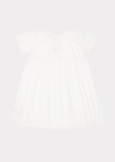 KIDS Caramel Victorian Girl Nightdress - Off White