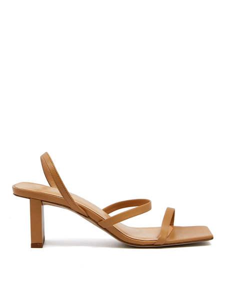 By FAR Liu Strap Sandals - Nude