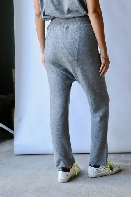Nili Lotan Lune Sweatpants - Heather Grey