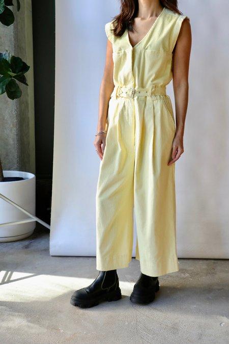 Rachel Comey Otto Jumpsuit - Butter