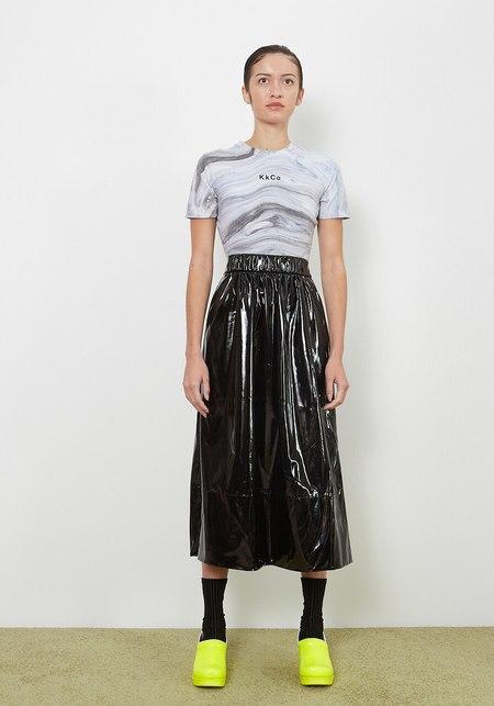 KkCo Short Sleeve Body Suit - Marble
