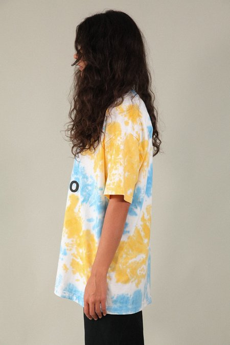 Unisex Kk Co Studio Boy Tee - Cloud Tie Dye