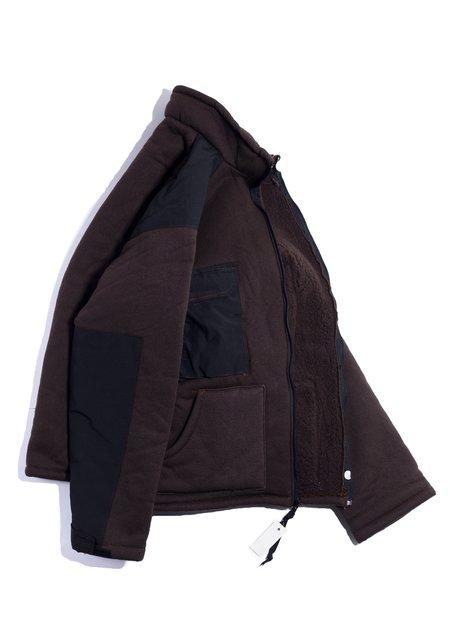 Vintage US Military Bear Fleece Jacket - Dark Chocolate