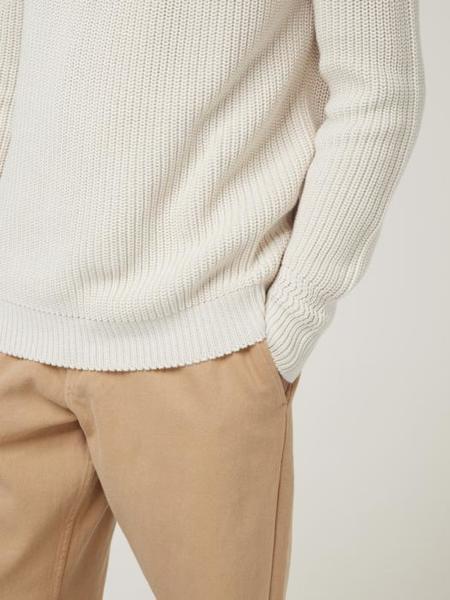 Wax London Sailors Crew Sweater - Ecru