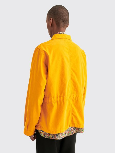 Tres Bien Brushed Twill Utility Shirt - Yellow