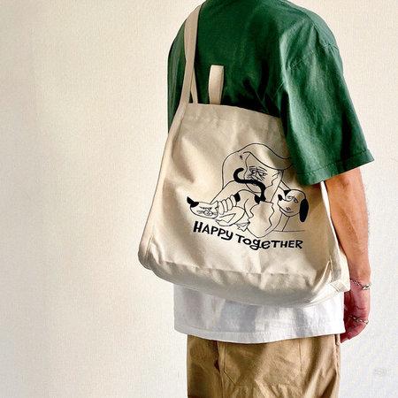 Yusuke Hanai x Mill Valley Tokyo Happy Together Resident Bag - Cream