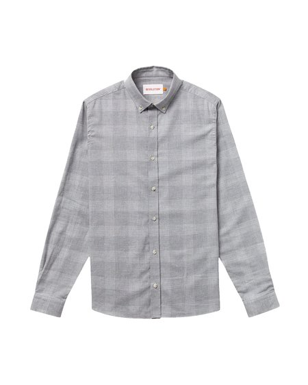 RVLT Camisa Button-Down - Grey