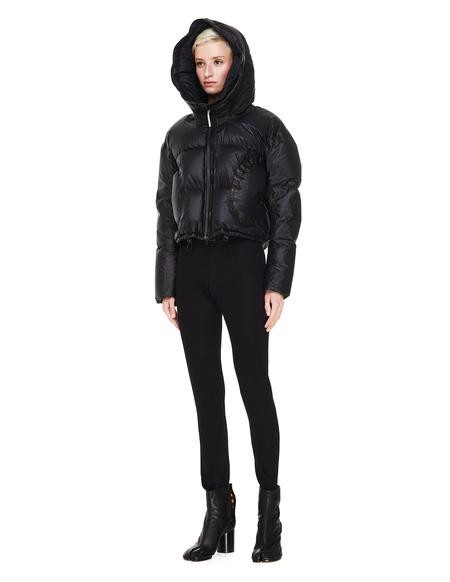 Isaac Sellam Cropped Down Jacket - Black