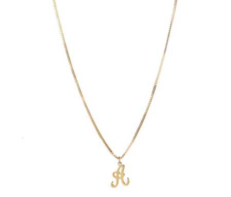 Lisbeth Jewelry Inital Necklace - Gold Fill