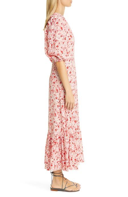 byTiMo Summer Dress - Red Flower