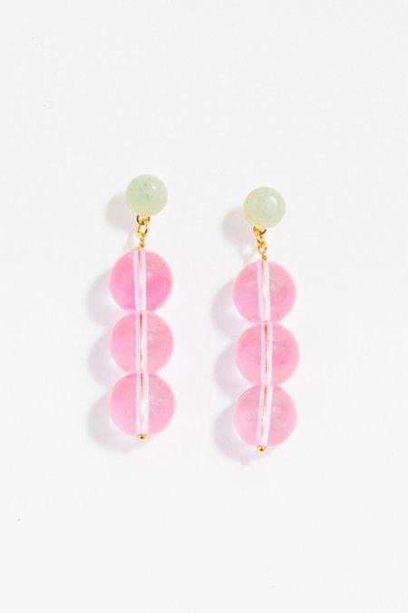 NOTTE Bubbles Earrings - Pink