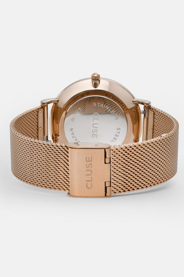 CLUSE WATCH La Boheme Mesh Rose Gold/White