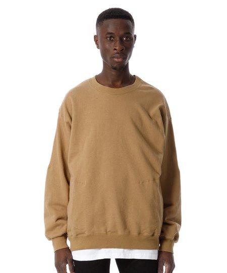 Sandinista MFG Pocket Crew Neck Sweat Shirt - Tan