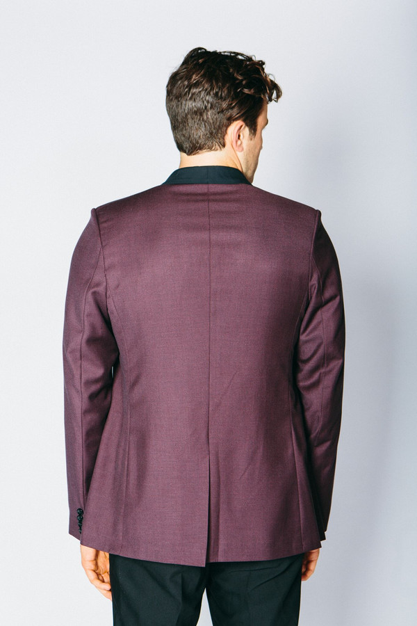 Men's Any Old Iron Classic Cashmere Blend Blazer - Ox Blood