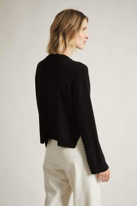 Lanius Boxy knit cardigan - black