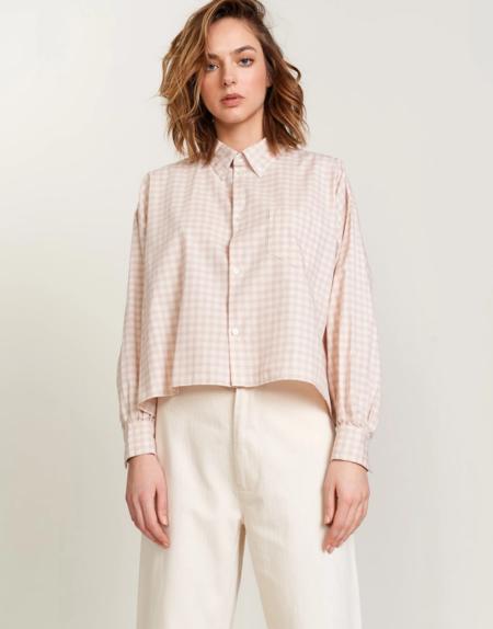 Bellerose Graff Shirt - Cream/Lilac