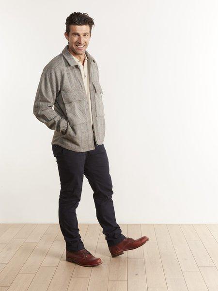 Native North Gofer Wool Coach jacket - Gray