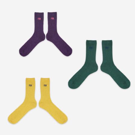 Unisex Bobo Choses B.C. Lurex Fun Sock Set