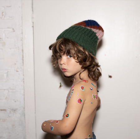 Kids Bobo Choses Color Block Neck Warmer & Beanie Set