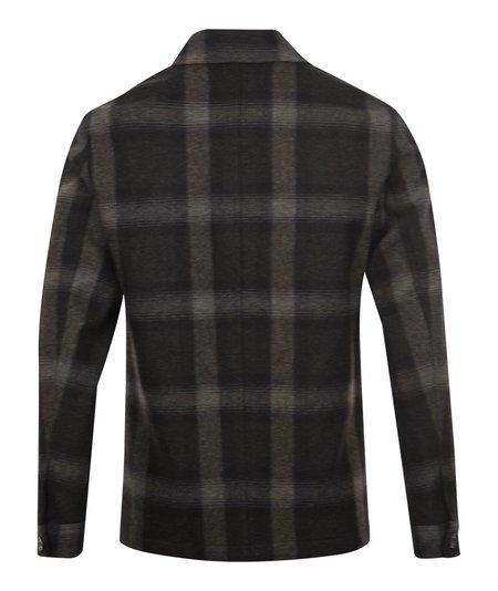 Selected Homme Hary Hybrid Check Blazer - Grey