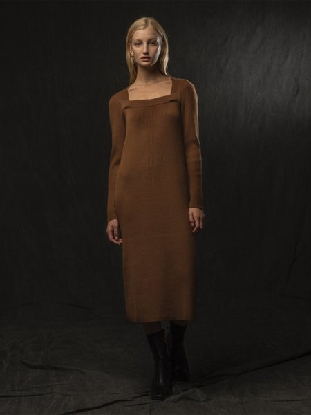 Pure Cashmere NYC Square Neck Dress - Sienna