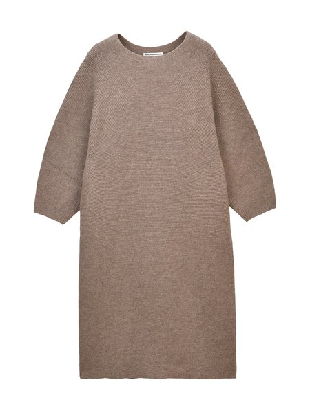 Pure Cashmere NYC Wholegarment Dress - Taupe